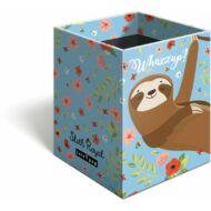 Lajháros asztali ceruzatartó - Lollipop Sloth Royal írószertartó