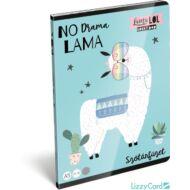 Lámás szótár füzet - A5 - 31-32 - Lollipop Lama LOL