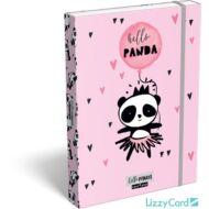 Pandás A5 füzetbox - Lollipop Hello Panda