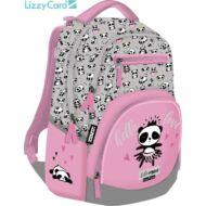 Pandás Active+ hátizsák - Lollipop Hello Panda iskolatáska