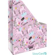 Unikornisos irattartó papucs A4 - Lollipop Uni-cool