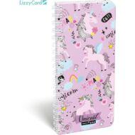 Unikornisos exkluzív spirál szótár füzet - 90x200 mm - Lollipop Uni-cool