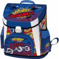 Bazinga prémium merevfalú ergonómikus iskolatáska - Supercomics