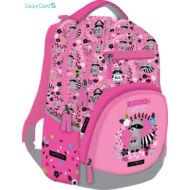Mosómacis Active+ hátizsák iskolatáska - Lollipop Raccoon