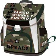 Military terepmintás prémium ergonómikus iskolatáska - Peace Alpha