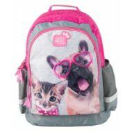 Paso szemüveges kutyás cicás iskolatáska, hátizsák - Studio Pets Rachael Hale