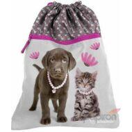 Paso ékszeres kutyás cicás tornazsák - Paso Prémium Studio Pets Rachael Hale