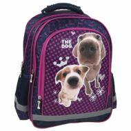 The Dog kutyás iskolatáska, hátizsák