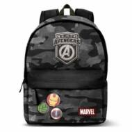 Bosszúállók hátizsák iskolatáska - Avengers - USB csatlakozóval