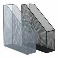 Victoria fémhálós asztali iratpapucs - ezüst