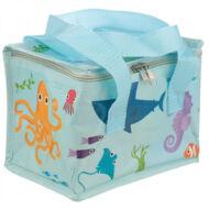 Tengeri élet uzsonnás táska thermo béléssel - tengeri állatok