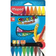 Maped Olajpasztell kréta - Maped Color Peps - 18 szín