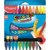 Maped Olajpasztell kréta - Maped Color Peps - 24 szín