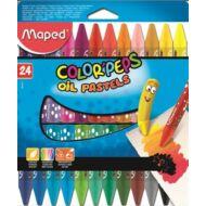 Maped Olajpasztell kréta Color Peps 24 szín