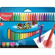Maped Color Peps PlastiClean zsírkréta - 24 szín