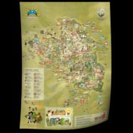 Székelyföld turisztikai értéktérképe