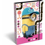 Minion füzetbox - A4 - Pink
