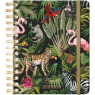 Tanári tervező Jungle - PlanAll MasterClass naptár 2020/2021-es tanévre - B5 spirálos