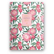 Florette Bullet Journal - Dolce Blocco - Lovely Blossoms testreszabható /határidő/ napló