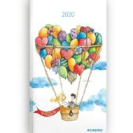 Heti tervező - Day by day - Love Ballon lufis határidőnapló / zsebnaptár