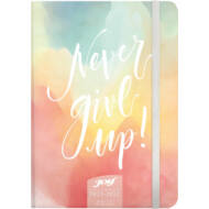 Speciális tervező fiataloknak - 16 hónapos heti naptár B6 2021/22 - Never give up!