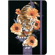 Speciális tervező fiataloknak - 16 hónapos heti naptár B6 2021/22 - Tiger
