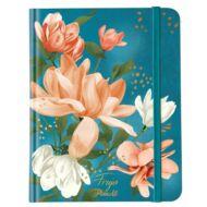 Viszkok Fruzsi Bullet Journal - Frujo Blue Magnolia - testreszabható /határidő/ napló