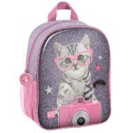 Cicás ovis táska / kirándulós hátizsák - Paso Studio Pets - Cica fényképezőgéppel