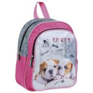 Kutyás kis méretű hátizsák ovis táska - Cleo and Frank - bulldog