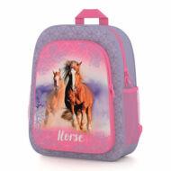 Lovas ovis táska / kirándulós hátizsák - Horse