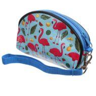 Flamingós cipzáras pénztárca - Lauren Billingham design