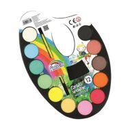 Vízfesték Fiorello 12 szín - palettás