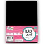 Fotókarton tömb A4 220 gr/m2 kétoldalas - fekete - 10 lap