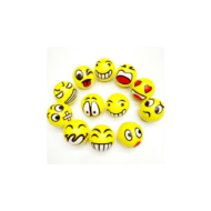 Stresszlabda - Emoji Smiley vicces fejek - 6,3 cm - Play with fun