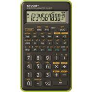 Tudományos számológép - 146 funkciós - SHARP EL-501TB fekete-zöld