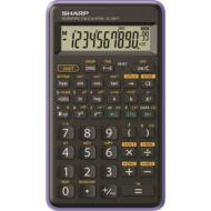 Tudományos számológép - 146 funkciós - SHARP EL-501TB - fekete-lila