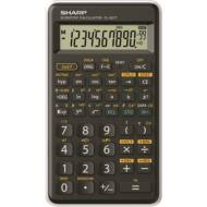 Tudományos számológép - 146 funkciós - SHARP EL-501TB - fekete-fehér
