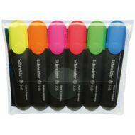 Szövegkiemelő készlet - Schneider Job 150 - 6 szín/csomag