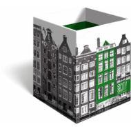 Asztali ceruzatartó - Geo City, Amsterdam írószertartó