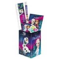 Jégvarázs suli szett ceruzatartóval - Olaf & Elsa