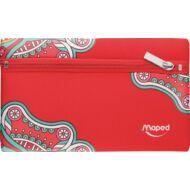 Maped Mandala lapos bedobálós tolltartó - Red
