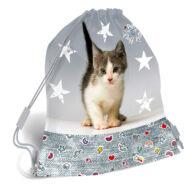 Cicás tornazsák sportzsák - Pet Fluff Kitten