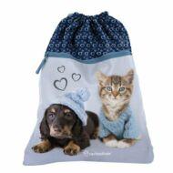 Pulcsis kutyás cicás tornazsák - Paso Prémium Studio Pets Rachael Hale