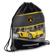 Lamborghini tornazsák sportzsák - sárga autós