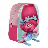 Trollok 3D ovis hátizsák, kirándulós táska - Pipacs