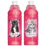 My Little Friend kutyás és cicás műanyag kulacs - 480 ml