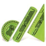 Műanyag vonalzó készlet - törhetetlen 3 darabos - Maped Twist 'n Flex