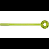 Zseléstoll gumifigurával - fánkos - zöld
