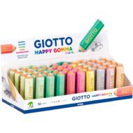 Radír - GIOTTO Happy Gomma ceruza formájú - pasztell színű