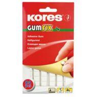 Gyurmaragasztó Kores Gum Fix - 84 kocka / csomag